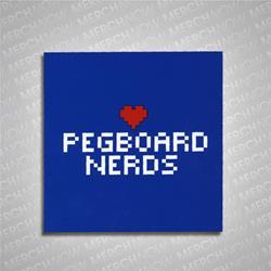 Pegboard Nerds Pixel Heart