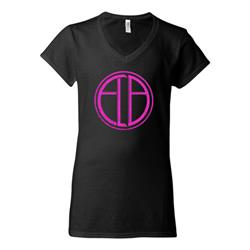 ELB Hidden Behind The Cross Black V-Neck