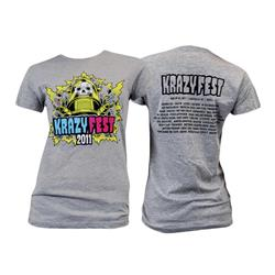 Krazyfest Event Gray