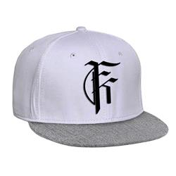 Icon Logo White w/ Heather Bill Snapback