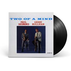 Paul Desmond & Gerry Mulligan Two Of A Mind Black