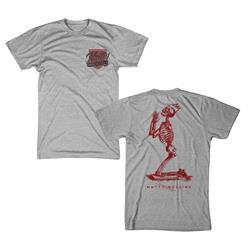 Matty Shield Heather Grey T-Shirt