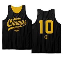 Varsity Globe Black/Gold Basketball