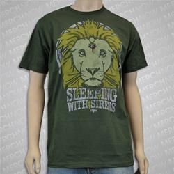 Lion Crest Olive Green