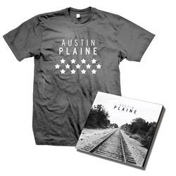 Austin Plaine - CD + T-Shirt Bundle