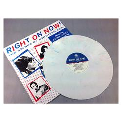 Right On Now! The Sounds Of Northern Soul White w/ Red and Blue Swirl