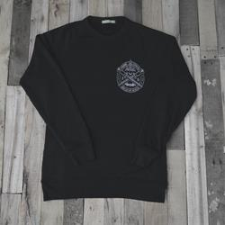 Passage True Black Crewneck