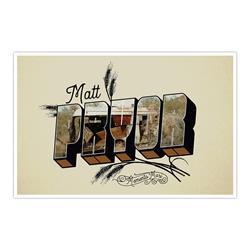Postcard  Signed Litho
