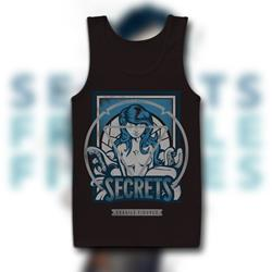 Fragile Figures Black TankTop