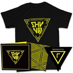 Shining - International Blackjazz Society LP + T-shirt