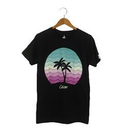 Circle Palm Black