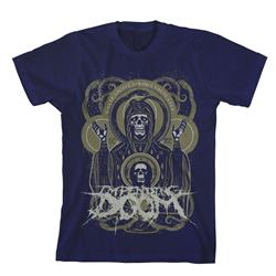 Impending Doom - False Light Navy Final Print! $6 Sale
