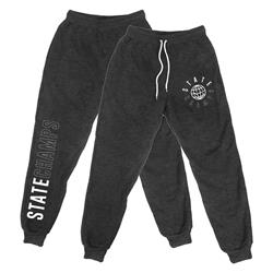 Worldwide Heather Charcoal Jogger
