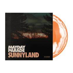 Sunnyland Orange/White Swirl