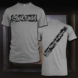 Slash Heather Grey T-Shirt