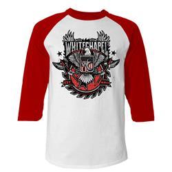 Revolution White/Red Baseball Shirt