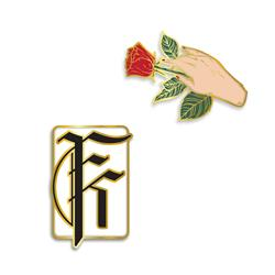 2 Pack Enamel Pin