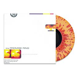 The Promise Ring - 30 Degrees Everywhere Transparent Orange w/ Opaque Red Splatter