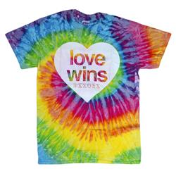 Love Wins Saturn Tie-Dye