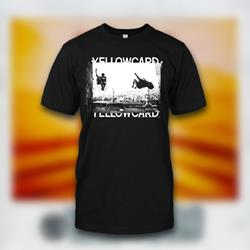 Yellowcard - Live Photo Black T-Shirt