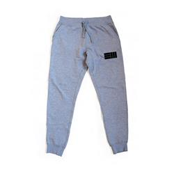 EM Logo Heather Grey Jogger