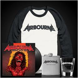Breakin' Outta Hell LP/Baseball Tee/Flask/Shot Glass