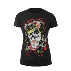 Day Of The Dead Black Girl Shirt
