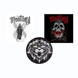 Miss May I Sticker 3-Pack