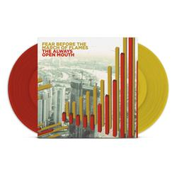 The March Of Flame The Always Open Mouth Red/Gold Vinyl 2Xlp