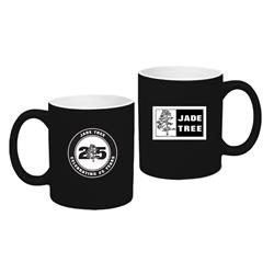 Twenty Five Years Black Coffee Mug