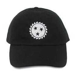 Sawblade Black Dad Hat