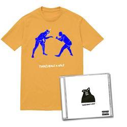 CD & Wrestlers Mustard T-Shirt