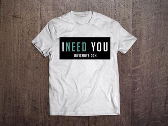I Need You White