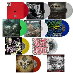Bullet Tooth Vinyl Bundle 3