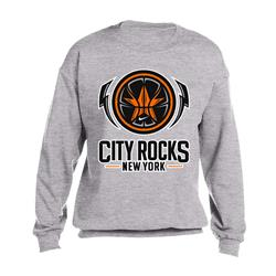 City Rocks NY Logo Grey