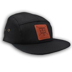 Arrow Black 5-Panel Hat