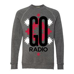 Pattern Heather Grey Crewneck