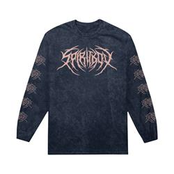 Death Metal Logo Mineral Wash Black