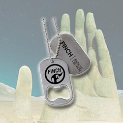 Back To Oblivion Bottle Opener Dog Tags