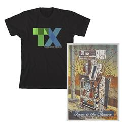 T-Shirt + Screen Printed Poster Bundle