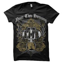 Gold Crest Black