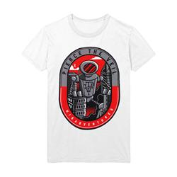 Robot White T-Shirt
