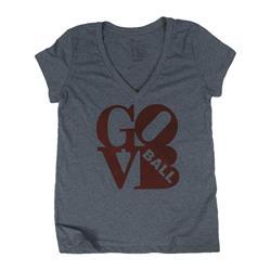 Love Heather Grey Women's V-Neck
