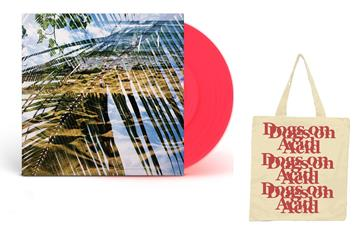 Dogs On Acid Opaque Red Vinyl + Tote Bag