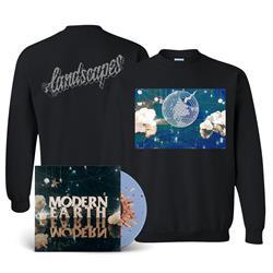 Modern Earth LP/Crewneck Bundle