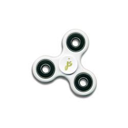 Logo White Fidget Spinner
