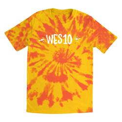 Wes10 Logo Yellow/Orange Custom Dyed