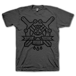 Sword Crest Charcoal Gray