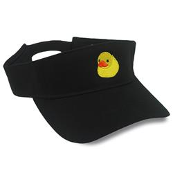 Duckie Black Visor
