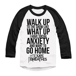 Anxiety Black/White